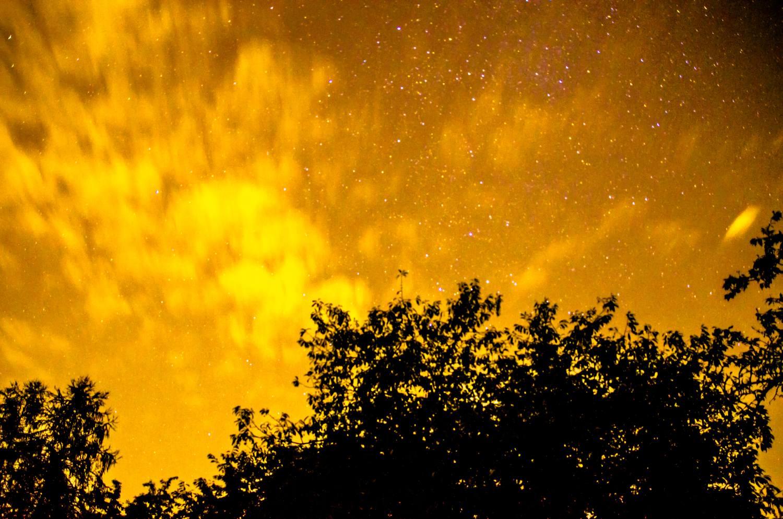 Langzeitbelichtung Himmel